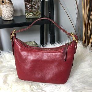 COACH Red Leather Legacy Mini Soho Shoulder Bag